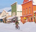 Crested Butte on Bike print