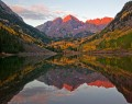 Maroon Bells Fall Sunrise print