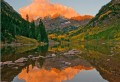 Another Maroon Bells Autumn Sunrise print