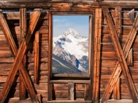 ghost town, Telluride, George Westinghouse,  Wilson Peak, Coors Brewing Company, Gold, prints, photography, Mike Barton