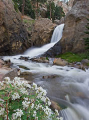 Middle Boulder Creek, Boulder Falls, boulder canyon, photography, fine art prints, Mike Barton, colorado