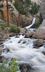 Middle Boulder Creek, Boulder Falls, boulder canyon, colorado, photography, fine art prints, Mike Barton