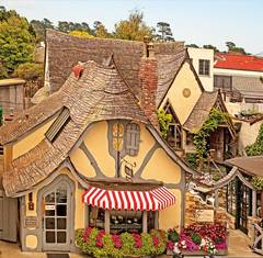 Monterey Hearld Article on Carmel'sFairy Tale Cottage Book