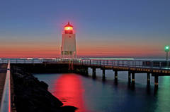 Great lake, Charlevoix, lighthouse, south pier, sunsets, fine art prints, photography, Mike Barton.