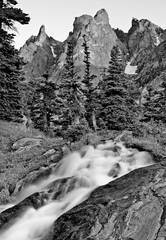 Photo, Dream Lake, Rocky Mountain National Park, Bear Lake, mountain, peak, Hallett Peak, photograph, Mike Barton