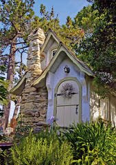 Hugh Comstock, Hansel, cottage, Mayotta, Otsy-Totsy dolls, Carmel-By-The-Sea, Mike Barton