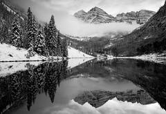 Maroon Bells, mountain, peaks, Maroon Lake, colorado, photography, fine art prints, Mike Barton