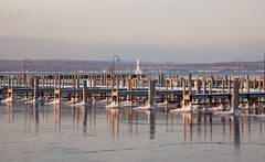 winter, marina, Northern Michigan, Petoskey, Michigan, photography, prints, Mike Barton, Little Traverse Bay