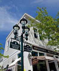 Grandpa Shorter's Gifts, Gaslight District, Chief Petosegay, Petoskey, Michigan, photography, prints, Mike Barton