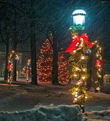 Christmas, Petoskey, Michigan, photography, prints, Mike Barton, Little Traverse Bay