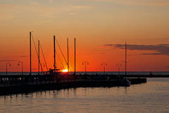 Petoskey, Michigan, photography, prints, Mike Barton, Little Traverse Bay, marina