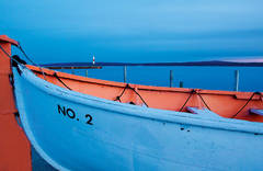 lifeboat, John A. Galster, Petoskey, Bay Harbor, Michigan, photography, prints, Mike Barton