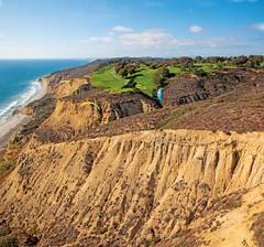 torrey pines, golf course, areal