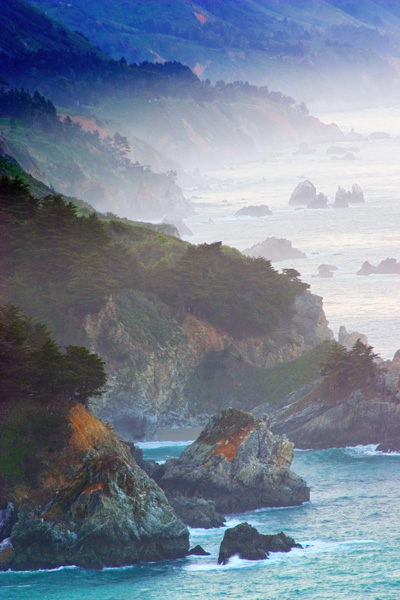 Big Sur, Highway One, California, coastline, mountains, Ocean, photograph, prints, Mike Barton, photo