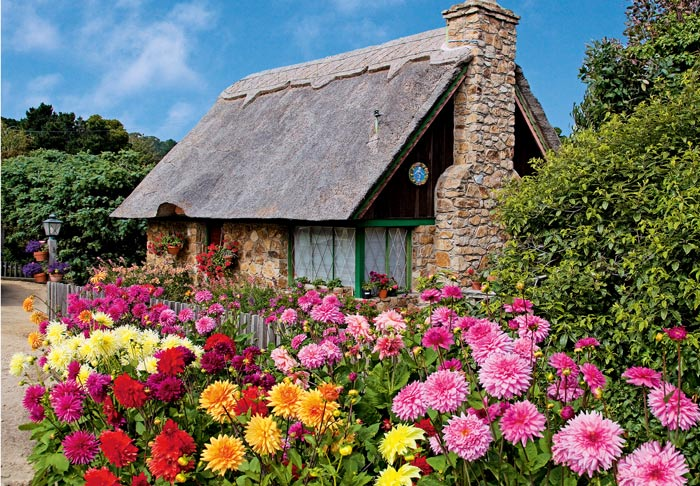 Carmel Cottage Carmel California Mike Barton Photography