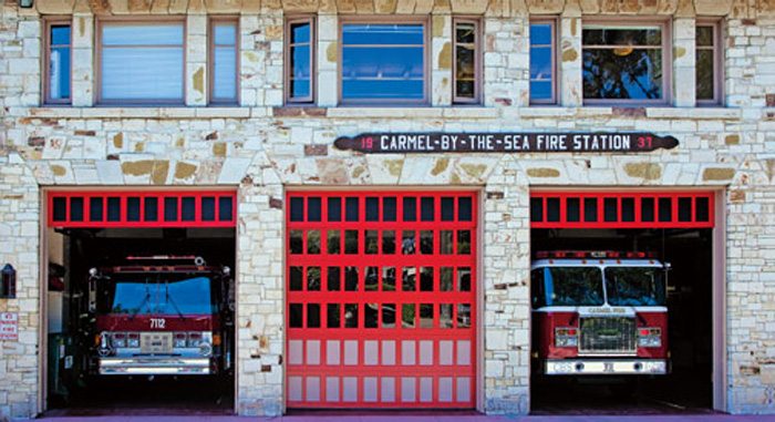 Carmel Fire Station, Carmel-By-The-Sea, photo