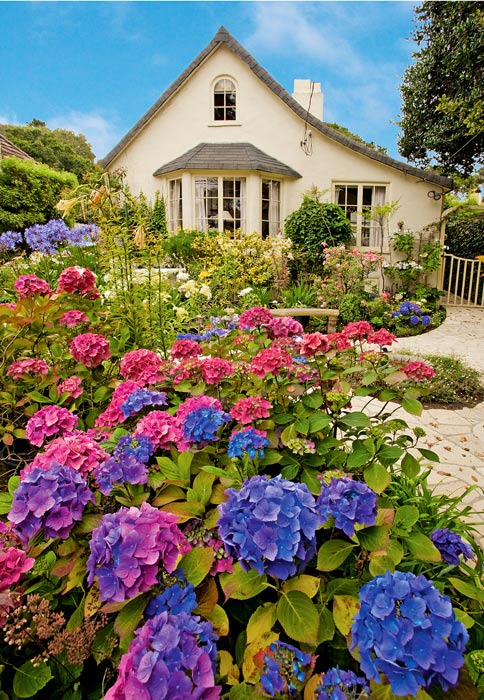Carmel-By-The-Sea, Carmel, Garden, Cottage, Mike Barton, photo