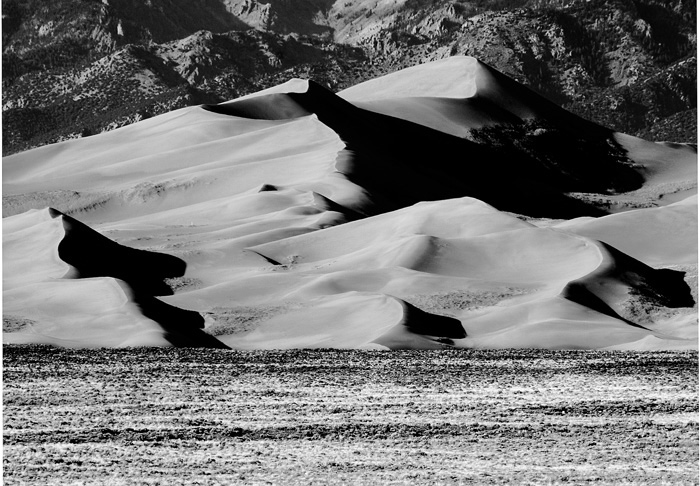 Sand Dunes, Colorado, Sangre de Cristo Mountains, mountains, colorado, photography, fine art prints, Mike Barton, photo