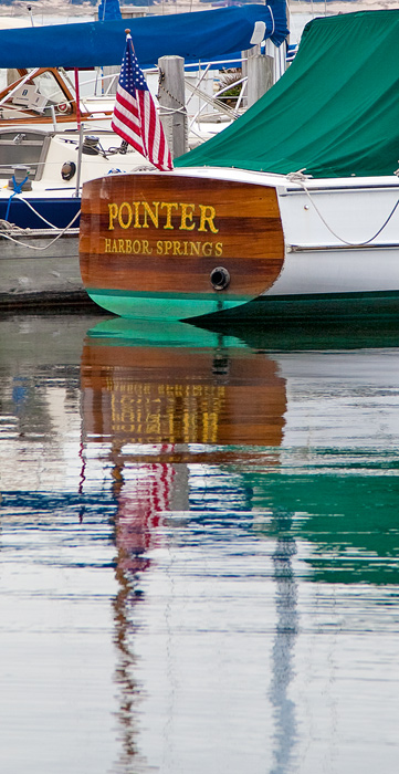 Harbor Springs, Pointer Boat, Michigan, photography, prints, Mike Barton, ford's Pier Restaurant, Harbor Point, photo