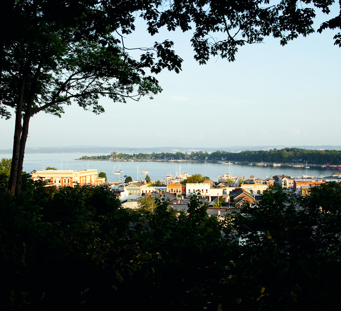 bluff, sunset, Harbor Springs, Michigan, photography, prints, Mike Barton, photo
