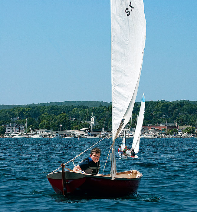 Young, Sailor, Harbor Springs, Michigan, photography, prints, Mike Barton , photo