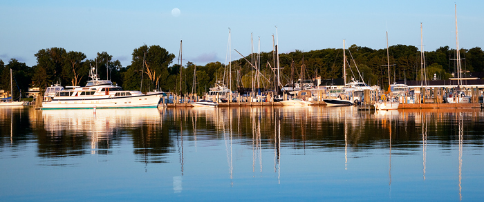 reflections, Harbor Springs, waterfront, Michigan, photography, prints, Mike Barton, photo