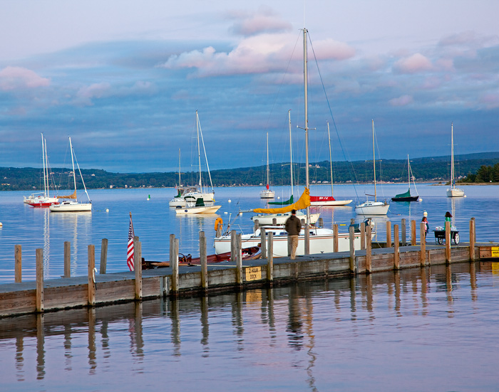water, boats, Harbor Springs, Michigan, photography, prints, Mike Barton, docks, photo