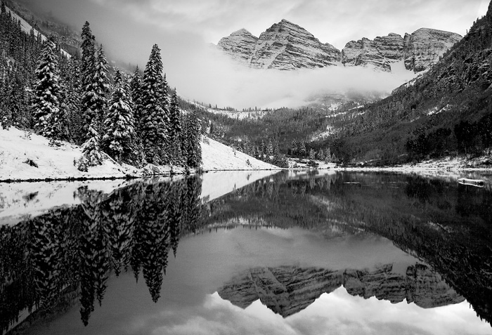 Maroon Bells, mountain, peaks, Maroon Lake, colorado, photography, fine art prints, Mike Barton, photo