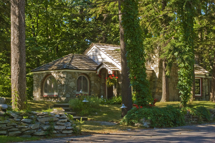 Cottages, Earl Young, Charlevoix, Michigan, mushroom houses, photograph, prints, Mike Barton, photo