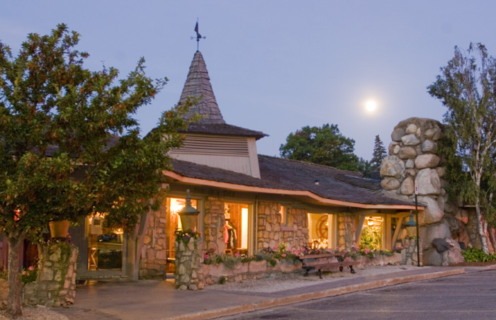 The low-lying Weathervane Inn is Young's masterpiece.