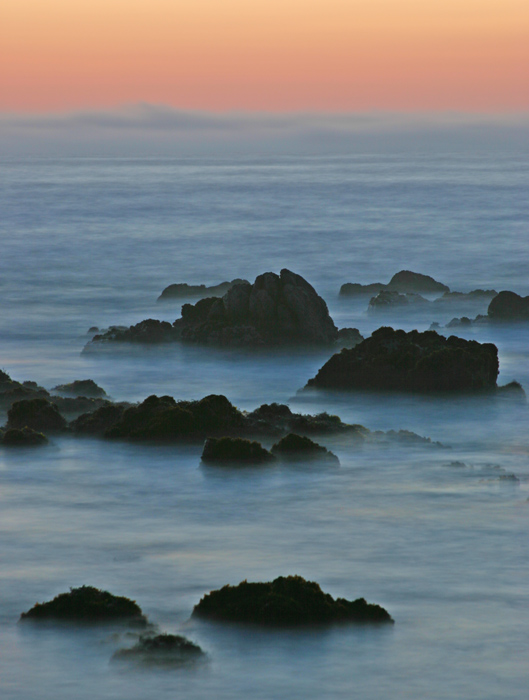 This photo of was taken during sunset at Point Piños in Pacific Grove, California on the tip of the Monterey Peninsula...