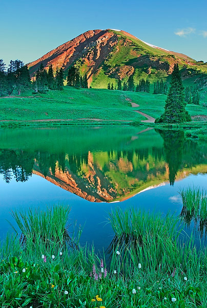 Paradise Basin, Crested Butte, colorado, photography, fine art prints, Mike Barton, photo