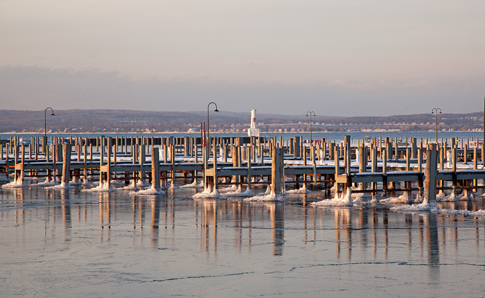 winter, marina, Northern Michigan, Petoskey, Michigan, photography, prints, Mike Barton, Little Traverse Bay, photo