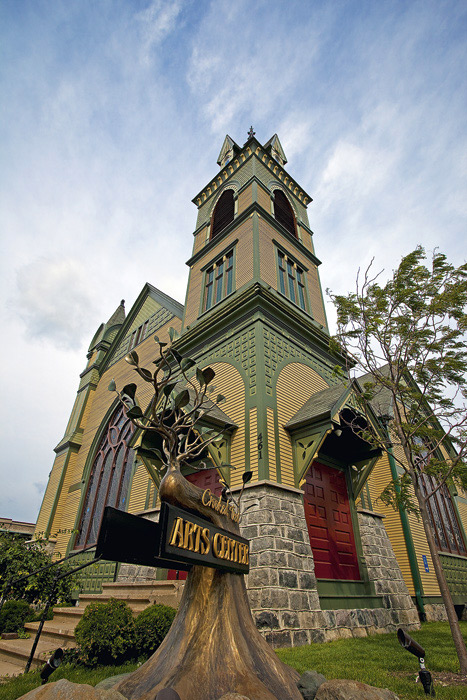 Housed in once was the historic Petoskey United Methodist Church, built in 1877, the Crooked Tree Arts Center is home to two...
