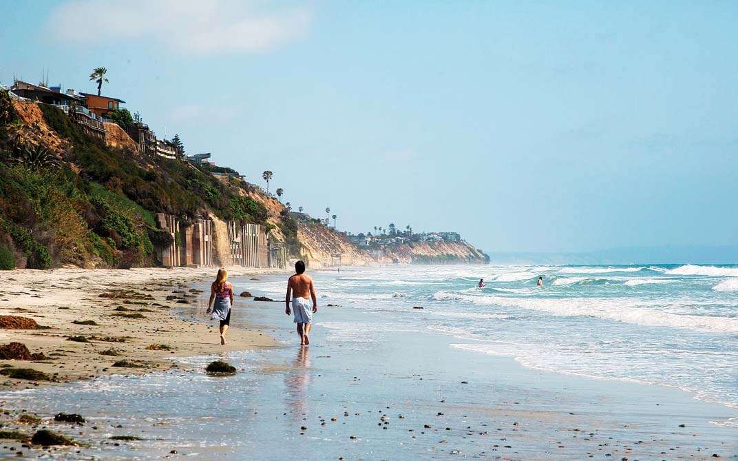 Leucadia, Encinitas, CA, beacons beach, photo