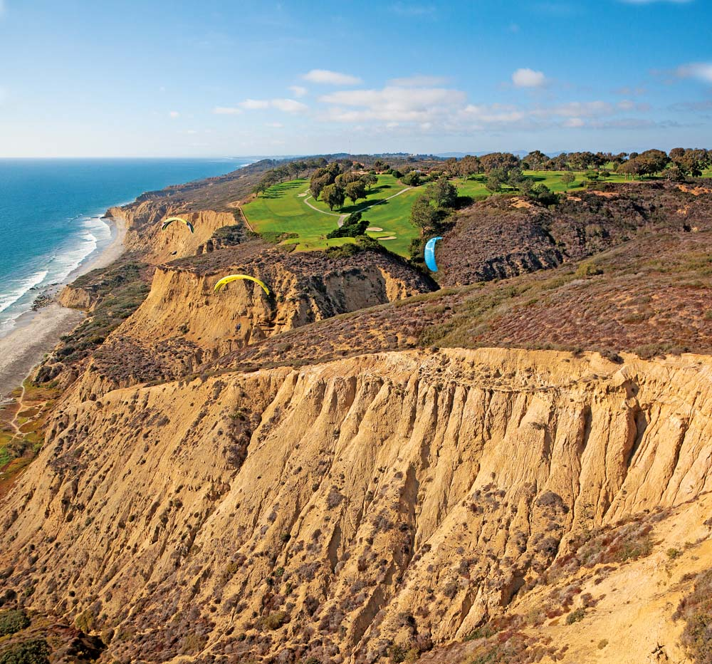 torrey pines, golf course, areal, photo