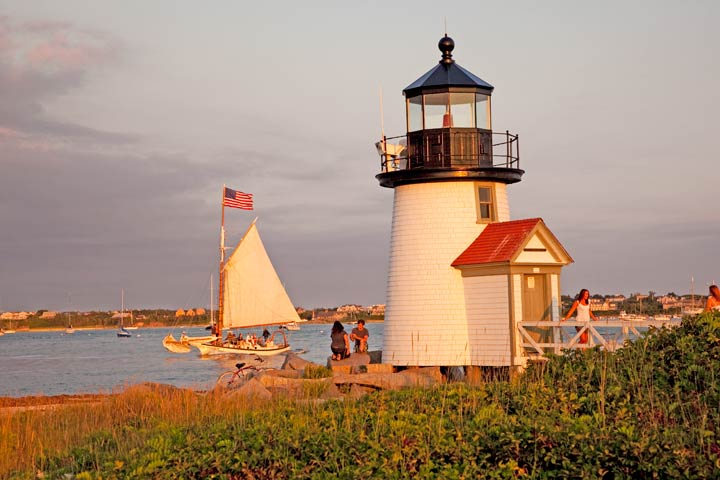 Nantucket, Brant Point Lighthouse, photo